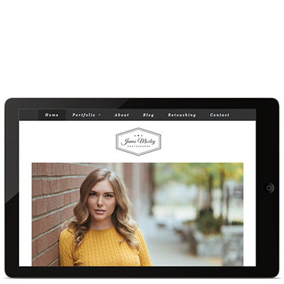 Tablet with Jigsy website